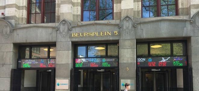 Amsterdam AEX beurs gebouw
