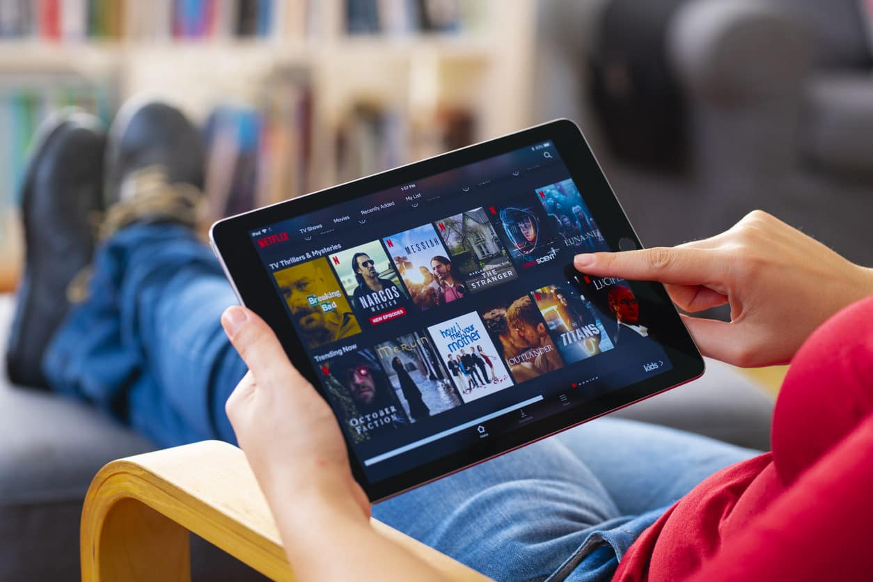 Aandeel Netflix Coronavirus