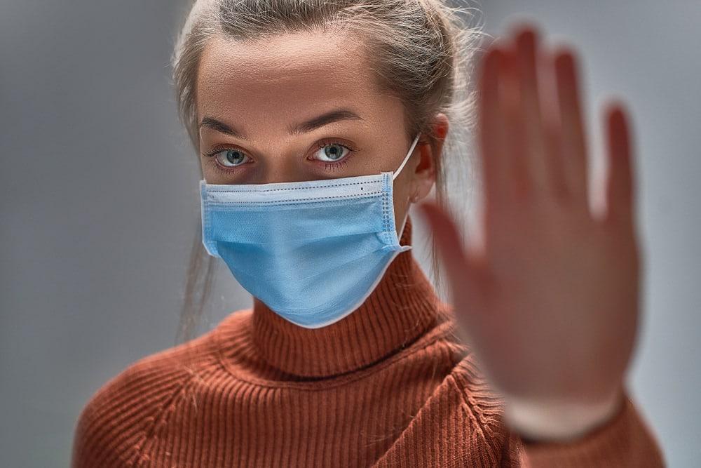 Aandelen Coronavirus mondkapjes coronacrash