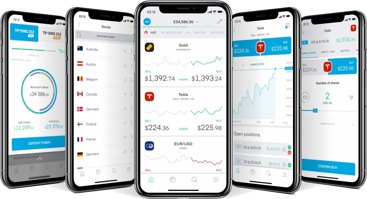 Trading212 Mobiel Beleggen app   Aandelen app   Beleggingsapp   Beurs app