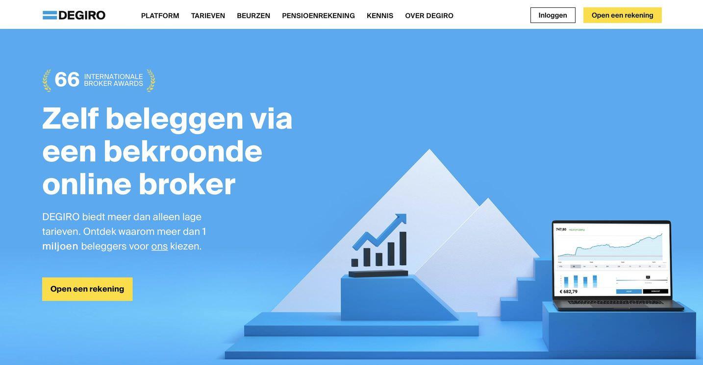 Beste brokers vergelijken, online brokers, goedkoopste broker nederland