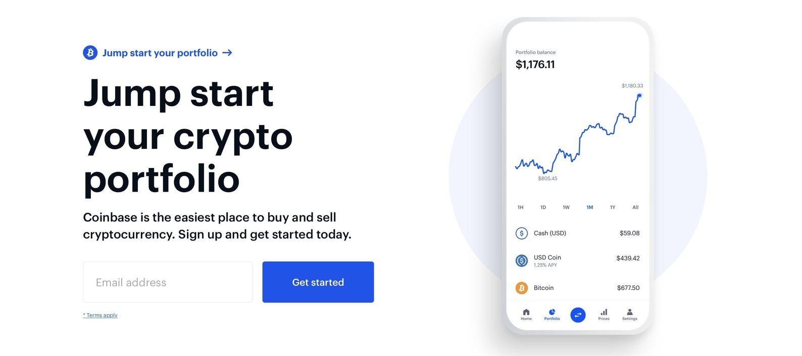 Beste crypto broker, Coinbase