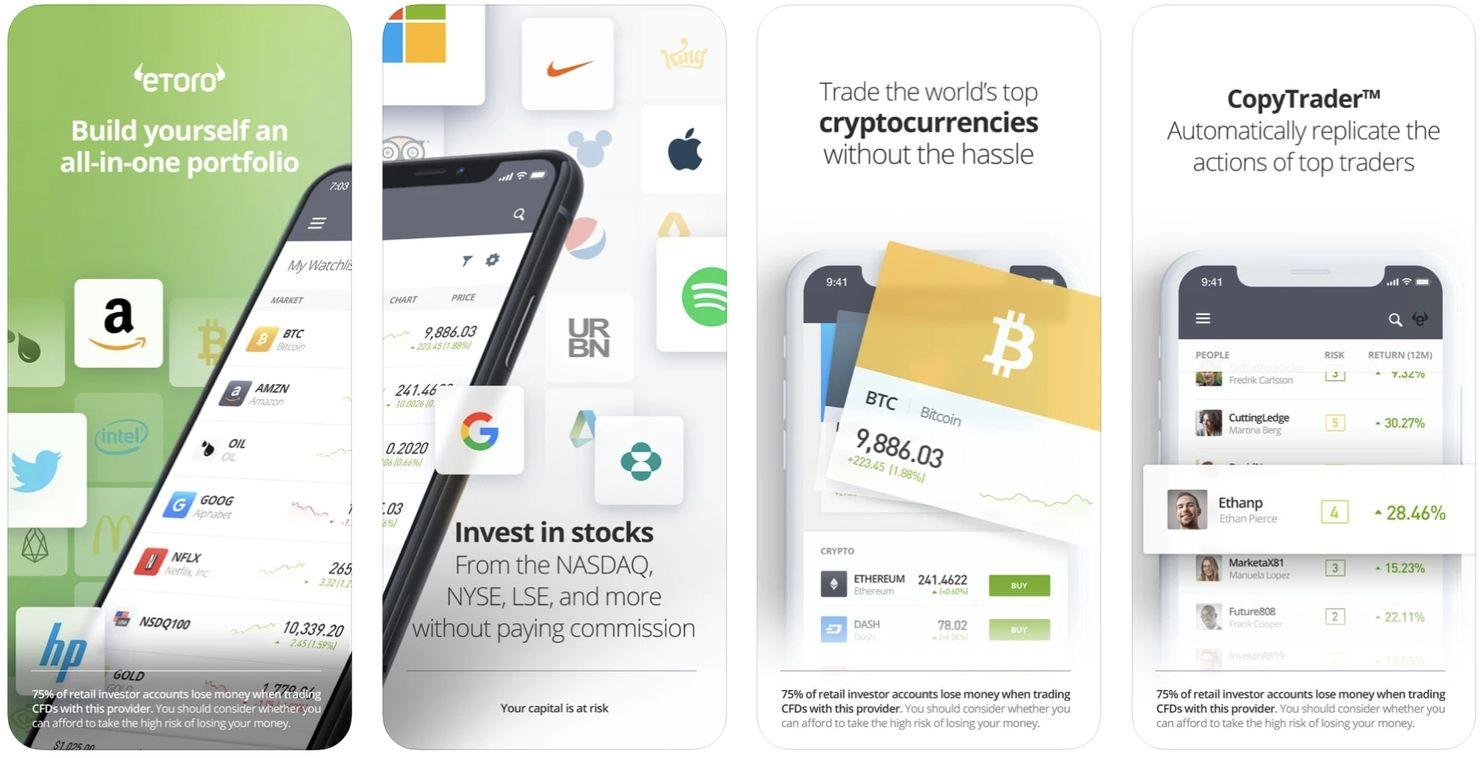 Beste aandelen app voor beginners, beurs mobiel app, beste beleggingsapp